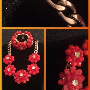 💃🏿Chunky Sculpted Necklace and Bracelet
